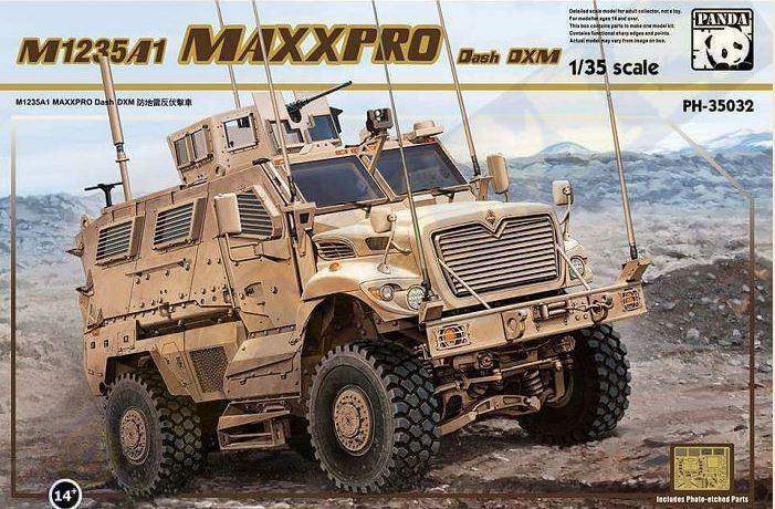 Panda 1/35 M1235a1 Maxxpro Dash Dxm  35032