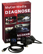 Diagnose OBD Scanner 1.4 PASoft für BMW E46 E39 E38 E83 E53 E85 +Runder+Software