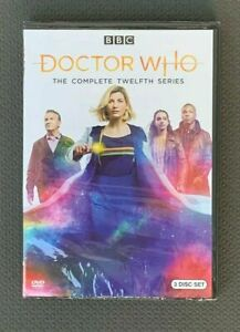 Doctor-Who-Season-12-DVD-2020-3-Disc-New-amp-Sealed-Free-Shipping-US-Seller