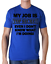 tshirt Mens Womens Kids  MY JOB IS TOP SECRET birthday gift funny joke