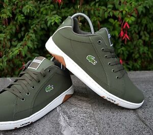 mens lacoste trainers size 8 - 54% OFF