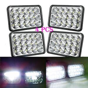 4PCS-LED-Headlights-Sealed-Beam-HID-Bulbs-For-Chevrolet-S10-G10-G30-Impala-K30