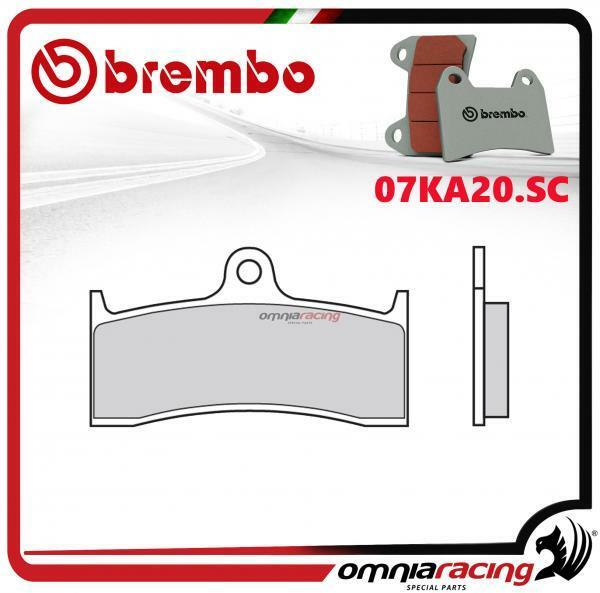 Brembo SC - fritté avant plaquettes frein Kawasaki ZX7RR 750 1996>2002