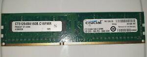 4-Go-Crucial-Memoire-RAM-DDR3-PC3-12800U-UDIM-FH11393-D3-CT51264BA160B-Ordinateur-de-bureau-HP