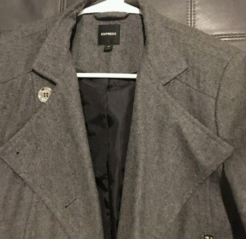Veste grise habillée moyenne pour femme rCX8rwzqx