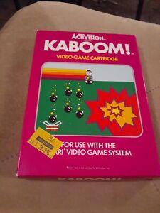 KABOOM-by-ACTIVISION-for-Atari-2600-CIB-FREE-SHIPPING