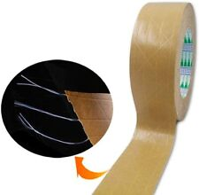 New Reinforced Kraft Paper Tape 2 Inch X 165 Feet Self Adhesive Packaging Tape