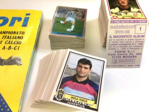 Figurina-Sticker n SENO 134 FOGGIA -New CALCIATORI PANINI 1992-93