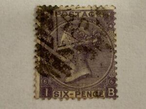 1867-Queen-Victoria-6-penny-vintage-stamp-sg-104-plate-6-deep-lilac-cv-90-00