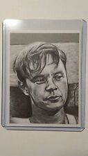 The Shawshank Redemption sketch card print Tim Robbins Andy Dufresne drawing art