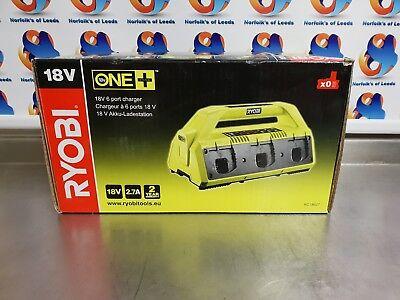 Ryobi RC18627 18 V ONE estaci/ón de carga de 6 estaciones