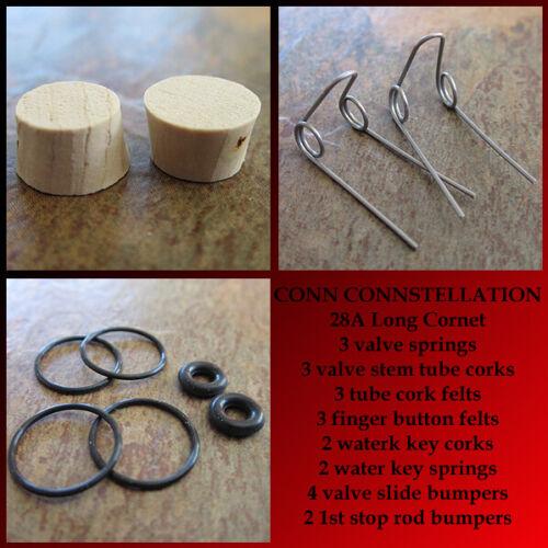 CONN 28A Long Cornet Tune Up Rebuild Kit
