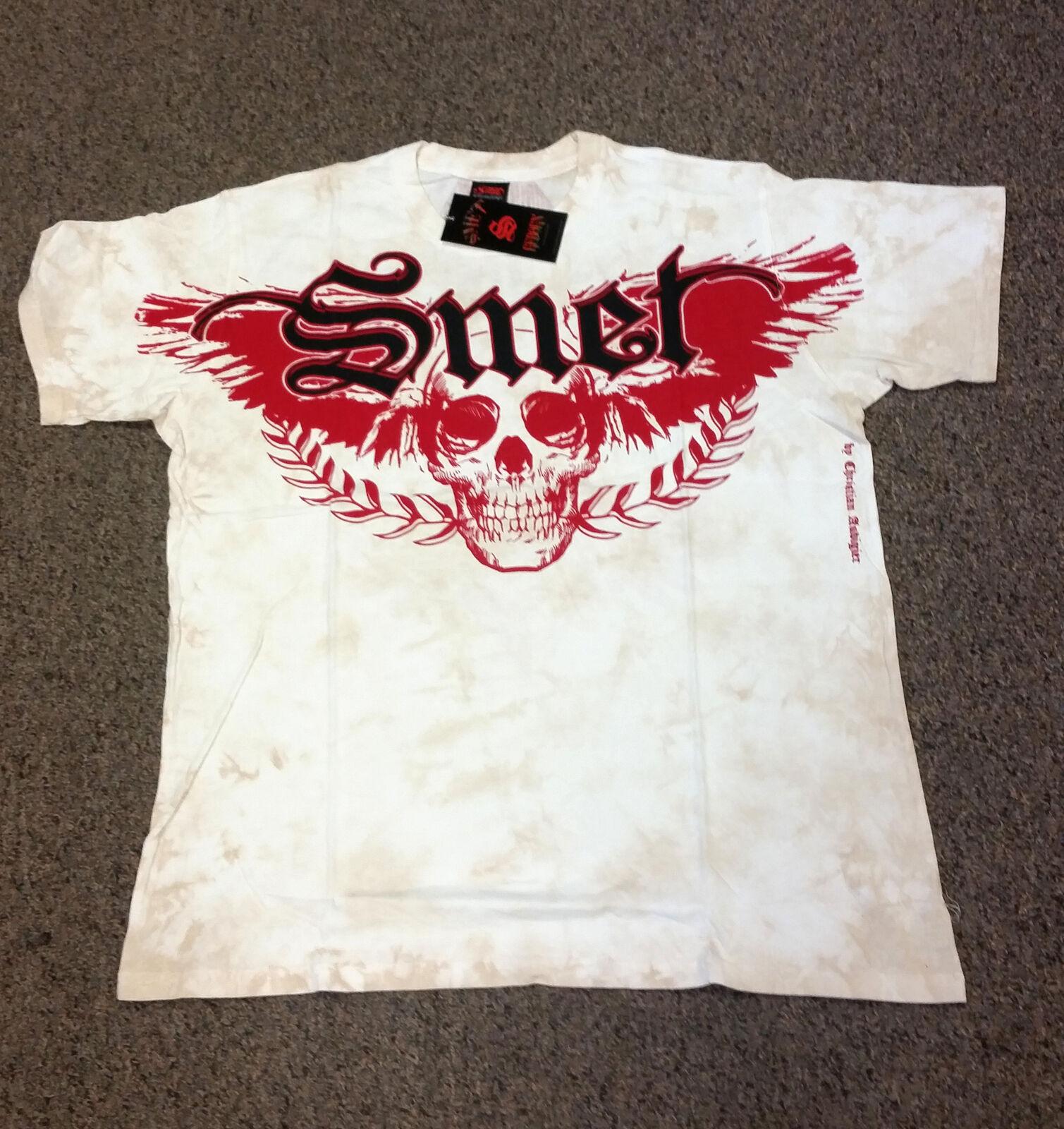 SMET by Christian Audigier Rennes Fleur de lis T Shirt