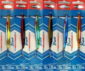 6-Fladen-Maxximus-Bua-Spoon-16g-95mm-Assorted-Colours-Lures-Sandeel-Bass-Salmon