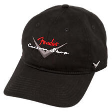 Fender Custom Shop Baseball Hat, Black, One Size Fits