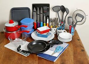 Image Is Loading Student Kitchen Pack Bundle Of Kitchen Essentials Suitable