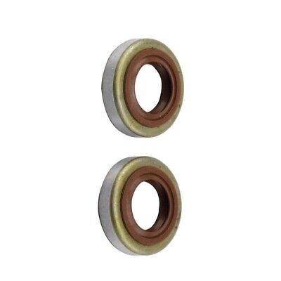 2x Oil Seals for STIHL FS80 FS85 FS90 FS120 FS200 FS250 FS300 FS380 Parts