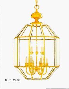 Minka lavery polished brass beveled glass pendant chandelier 9 image is loading minka lavery polished brass amp beveled glass pendant mozeypictures Images