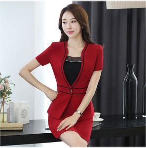 formal office uniform design business women skirt suit ol style