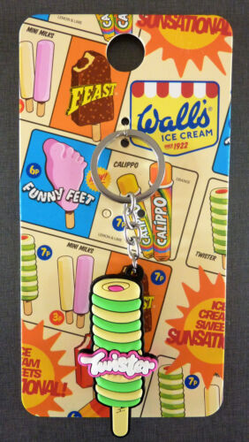 Langnese glace Twister Porte Clé Pendentif Poche Walls Ice Cream Primark