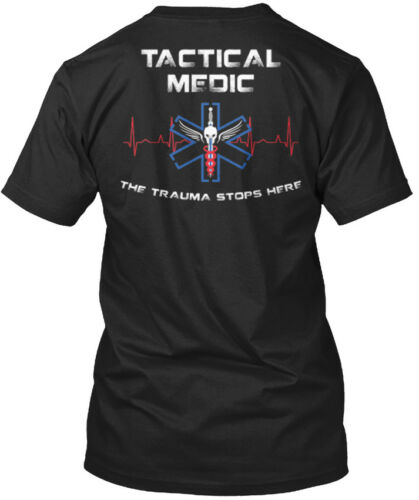 Tactical Medic The Trauma Stops Here Standard Unisex T-shirt