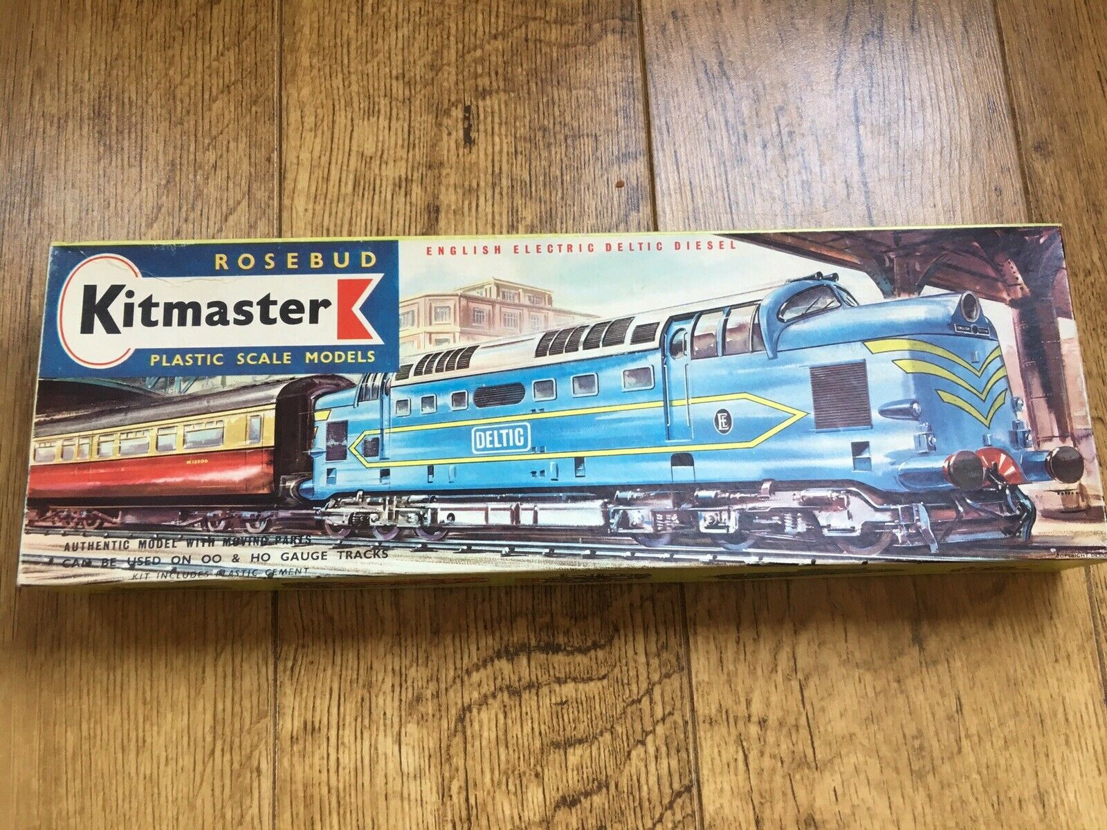 Kitmaster pinkbud English Electric Deltic Diesel  Look In The Shop