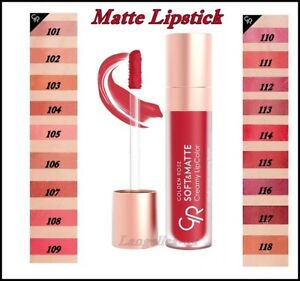 Golden Rose Soft Matte Creamy Lipcolor Full Coverage Liquid