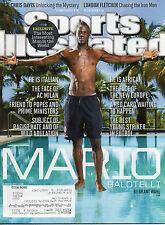 MARIO BALOTELLI Sports Illustrated AC MILAN World Cup SOCCER August 26 2013