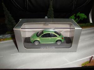 Minichamps-VW-Volkswagen-New-Beetle-Coccinelle-Cox