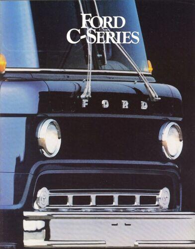 1984 Ford C-Series C-600 C-700 C-800 C-7000 C-8000 CT-8000 Truck Sales Brochure