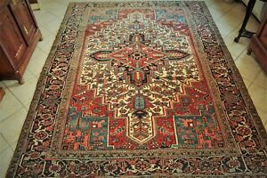 Antique Persian Heriz Rug - 1930-CM. 330 x 242
