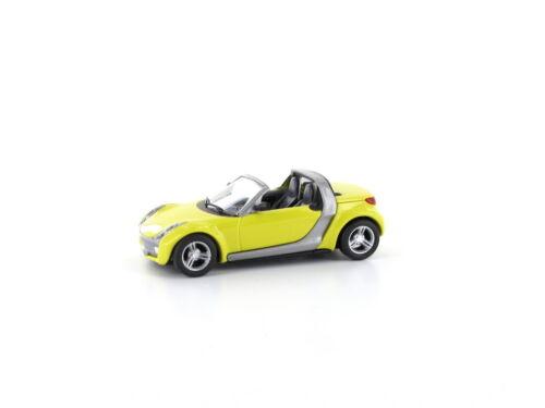 Busch 49300-103 h0 turismos smart roadster Shine Yellow
