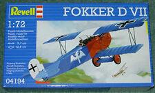 REVELL FOKKER D VII WWI FIGHTER NEW MINT & SEALED 1/72