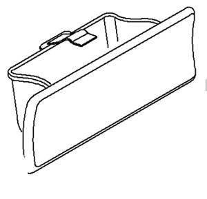 Vauxhall Cenicero Consola-Genuino NUEVO 93183043