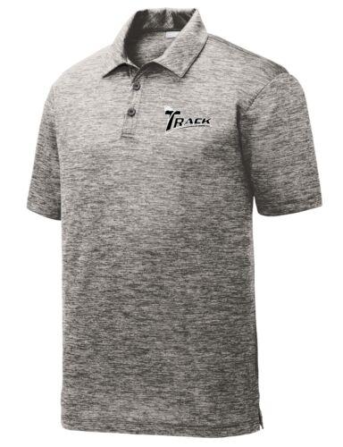 Track Men/'s Animal Performance Polo Bowling Shirt Electric Black Dri-Fit
