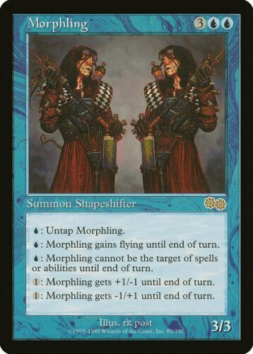 Morphling Urza/'s Saga NM-M Blue Rare Reserved List MAGIC GATHERING CARD ABUGames
