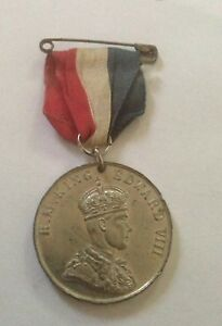 1937-KING-EDWARD-VIII-CORONATION-MEDAL-AT-WESTMINSTER-ABBEY-NEVER-TOOK-PLACE-A