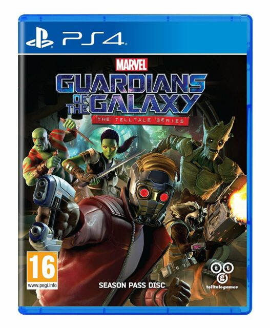 Marvel Guardians of the Galaxy PS4 the Telltale Series PlayStation 4 NEW