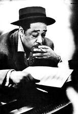 Duke Ellington Poster, Smoking at the Piano, Jazz