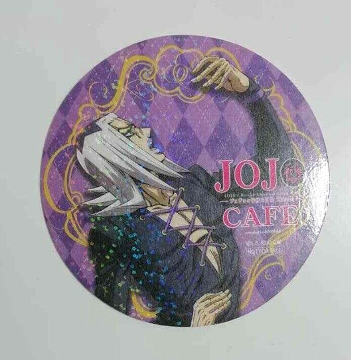 JOJO Golden Wind Crystalight Can Badge Button Leone Abbacchio Hirohiko Araki F//S