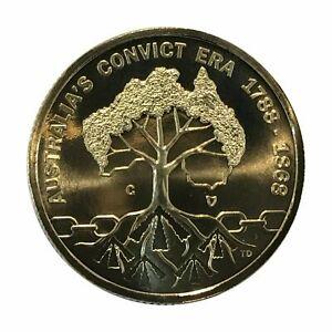 2018-1-Convict-Era-039-C-039-Privy-Mark-Specimen-UNC-ex-Mint-Set-in-2x2-Coin-Holder