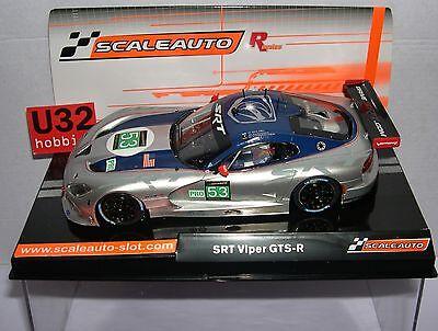 Scaleauto Sc-6037r Srt Viper Gts-r #53 24h.lm 2013 Dalziel Goossens Farnbacher Durable Service Kinderrennbahnen Elektrisches Spielzeug
