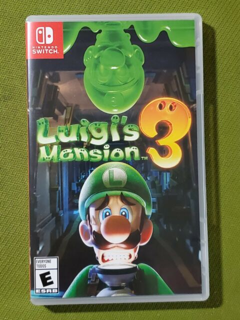 Luigi's Mansion 3 Standard Edition - Nintendo Switch - Adult Owned