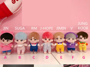 KPOP-BTS-Special-Bobi-Plush-V-JIMIN-SUGA-RM-JK-JIN-J-HOPE-Doll-clothes-in-stock