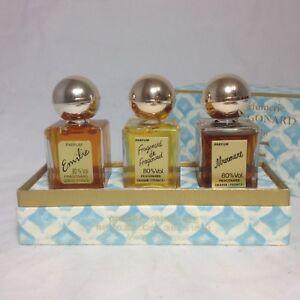 Rare Vintage Parfumerie Fragonard Parfum Perfume Emilie