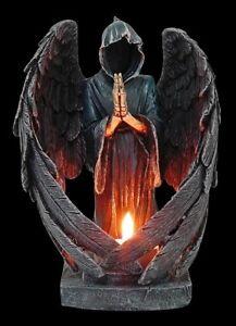 Porte-bougies-ANGE-Gothique-deco-ange-chandelier