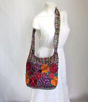 Mexican Embroidered Handbag Medium Crossbody Bag Handmade Shoulder Purse