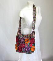Mexican Embroidered Handbag Medium Crossbody Bag Handmade Shoulder Purse