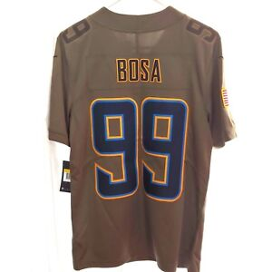 Nike-L-A-Chargers-Bosa-99-Salute-to-Service-Jersey-Olive-Mens-Size-Small