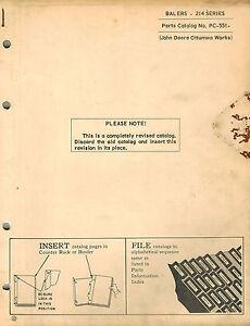 John Deere 566 Baler Parts Diagram | PulseCode org